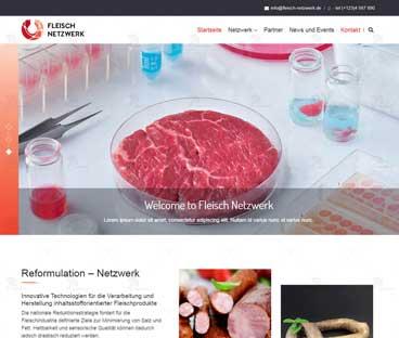 وبسایت شرکت تحقیقاتی بهبود کیفیت محصولات گوشتی