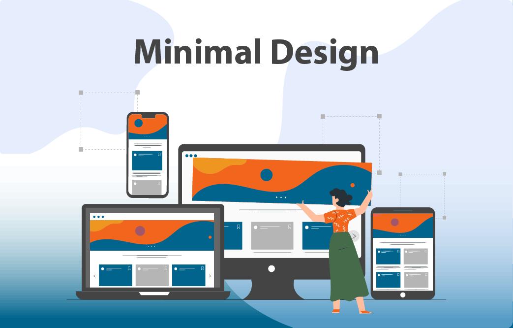 طراحی سایت مینیمال و هر آنچه باید درباره ی آن بدانید