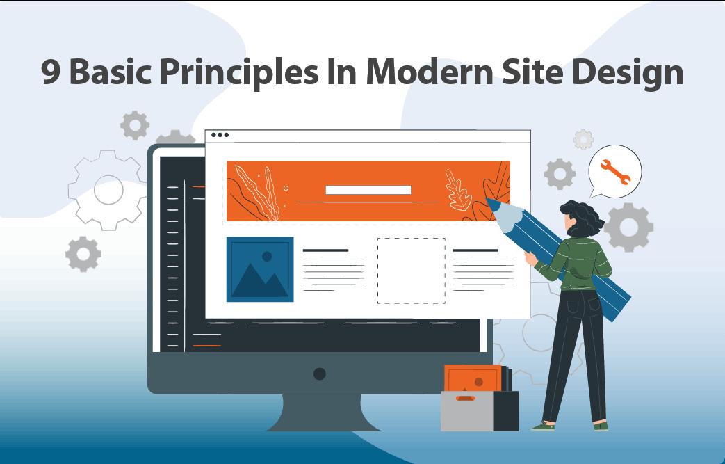 9 اصل اساسی در طراحی سایت مدرن