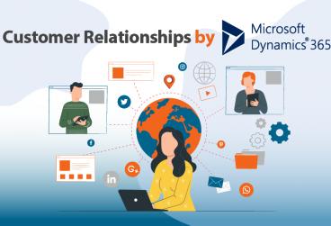 ارتباط با مشتری توسط پلتفرم بازاریابی مایکروسافت داینامیک 365