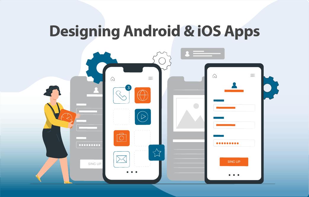 نکات کاربردی طراحی اپلیکیشن های اندروید و iOS