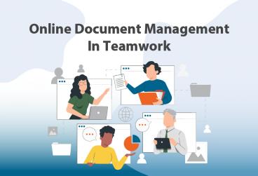 مدیریت آنلاین اسناد در کار تیمی