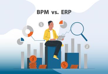 مقایسه BPM و ERP