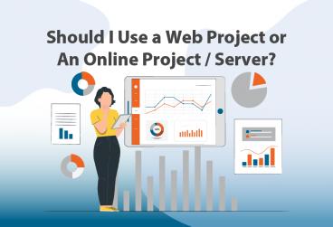 آیا باید از پراجکت سرور / وب استفاده کنم؟