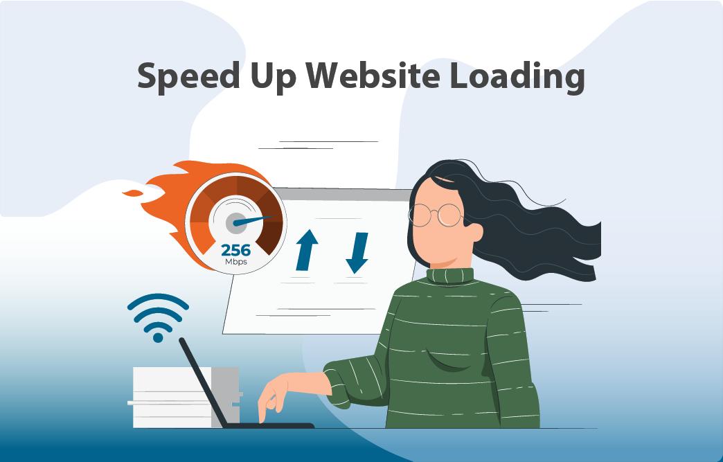 افزایش سرعت بارگیری وبسایت