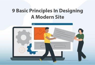 اصول طراحی سایت مدرن