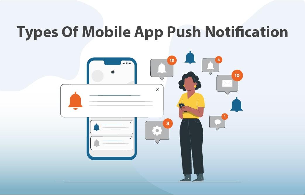 انواع پوش نوتیفیکیشن اپلیکیشن موبایل
